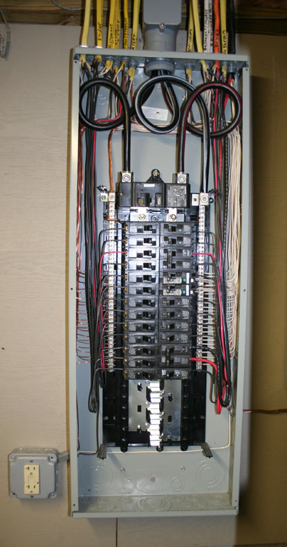 Replacing A Circuit Breaker In An Electrical Panel on electrical circuit breaker panel, 150 amp circuit breaker panel, home circuit breaker panel, main circuit breaker panel,